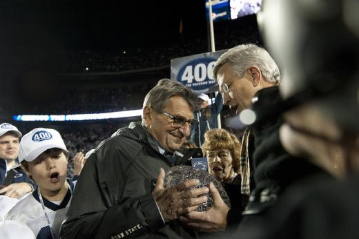 Trustee Joel Myers Explains Vote to Oust Paterno as Head Football Coach