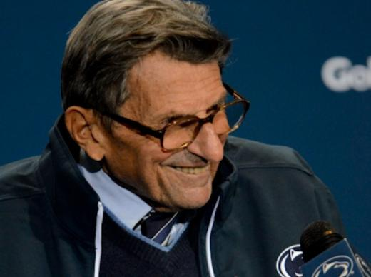 Joe Paterno Voted Greatest Football Coach in Big Ten History