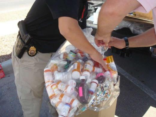 DEA, Local Police Collecting Unwanted Prescription Drugs This Weekend