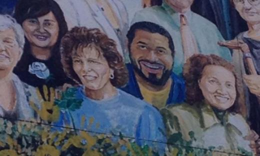 Urschel and Enriquez Added to Heister Street Mural
