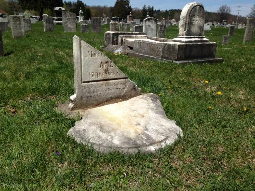 Cemetery Damage Estimate Tops $100,000, Donations Needed for Repairs