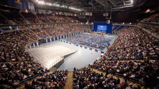 What Goes On Behind The Scenes At Penn State Graduation?