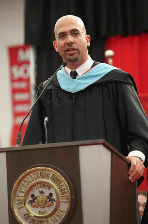 Penn State Football: James Franklin Scores With ESU Commencement Address