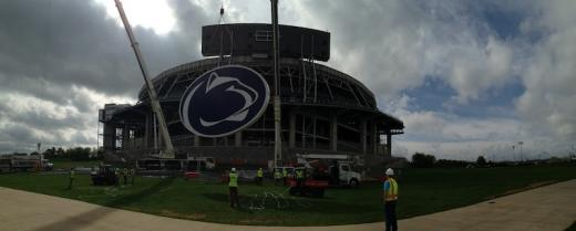 Penn State Football: Nittany Lion Logo Installed At Beaver Stadium