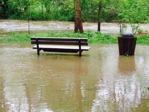 Heavy Rains Trigger Flood Warnings, Minor Flooding Across Area