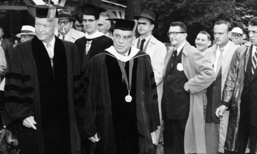 President Eisenhower's Penn State Commencement Speech Ranked Among Best Ever