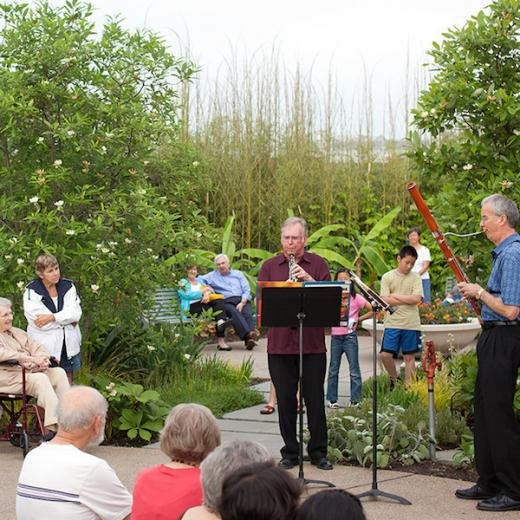 Music in the Gardens: Music at Penn's Woods