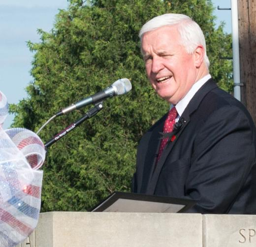 Memorial Day Celebration Draws Big Crowd to Boalsburg, Gov. Corbett Gives Address