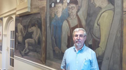 Experts Restore Murals at Penn State's Old Main Building
