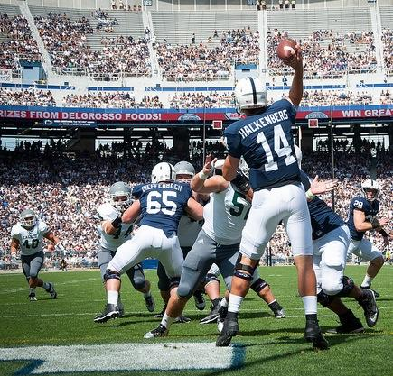 Penn State Football: QB Greats Blackledge, MRob Sing Praises of Christian Hackenberg