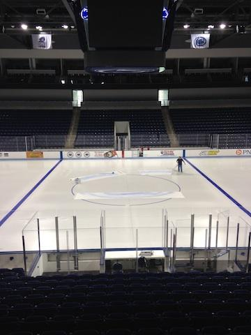 Penn State Hockey: Pegula Ice Arena Gets A New Paint Job