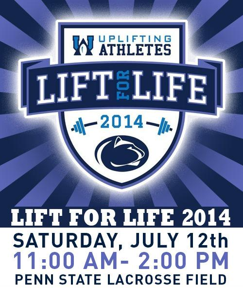 Penn State Football: Lift For Life Set For July 12, Features New Format