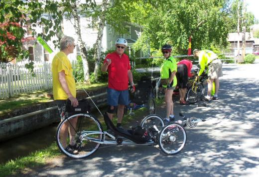 State College Pa Recumbent Bikes Roll Through Penns