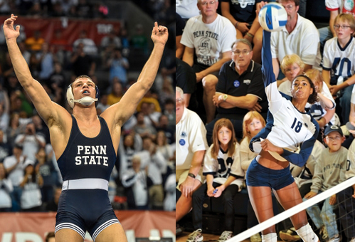 Taylor, McClendon Named Penn State Athletes Of The Year