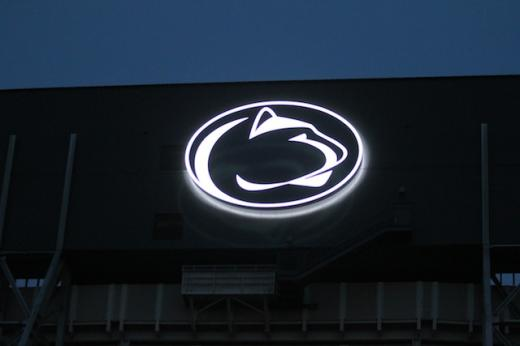 Penn State Football: Beaver Stadium Turned On, Tuesday Night