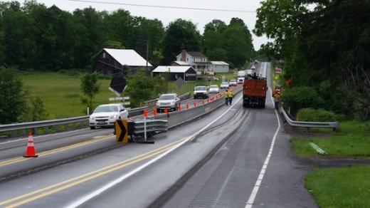 New Construction Slowing Route 322 Traffic
