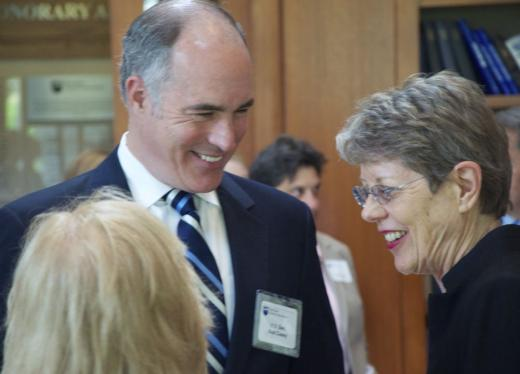 U.S. Senator Casey Honored for Contributions to Penn State