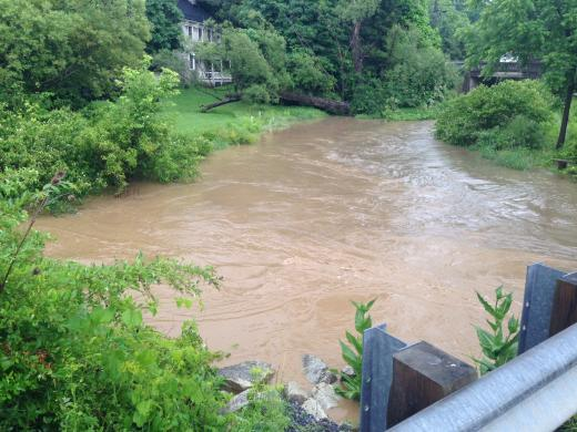 State College Experiences Flash Flooding