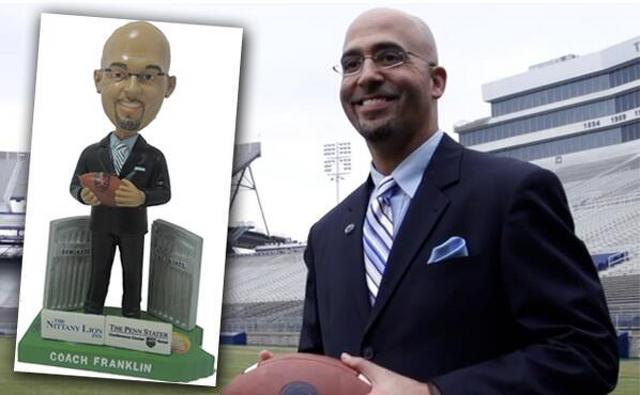 Penn State Football: Spikes Set For James Franklin Bobblehead Night