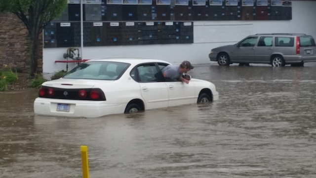 Torrential Rain Triggers Flash Flooding