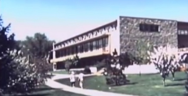 Rare video footage shows Penn State in the 1950s
