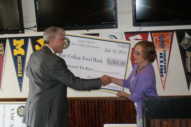 Rotary Club of State College Downtown contributes nearly $40,000 to local organizations