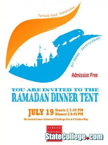 Ramadan Dinner in Downtown State College Aims to Bring Cultures Together