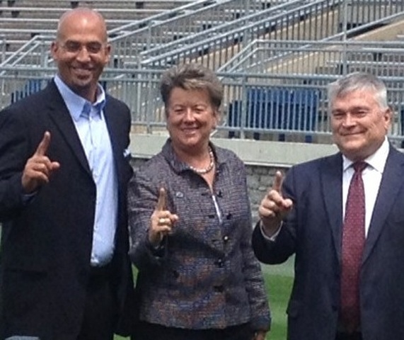 Penn State Athletic Director Barbour to Learn Relationships are No. 1 for Franklin