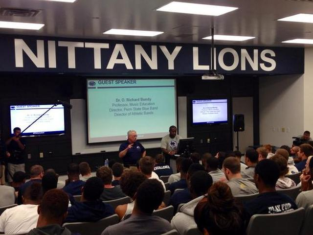 Penn State Football: Nittany Lions Keeping In Tune With Singing Lessons