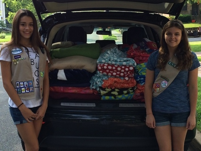 Girl Scouts Bring Awareness to Youth Homelessness