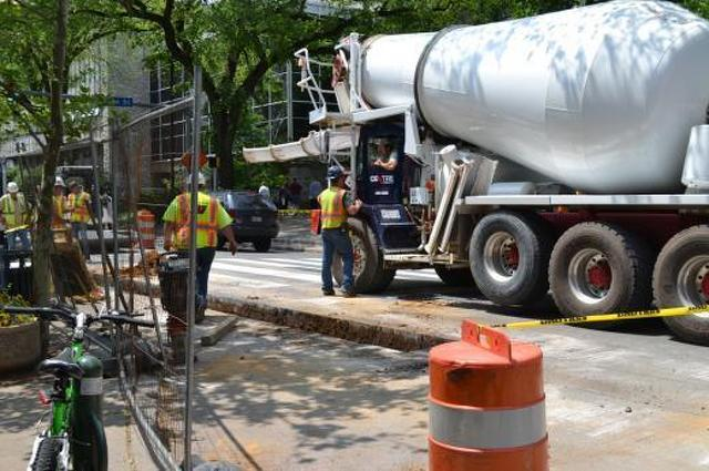 CATA Bus Stops Closed for 'Final Act' of College Ave Construction
