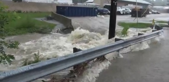 Heavy Rain Triggers Minor Flash Flooding, More Rain in Forecast