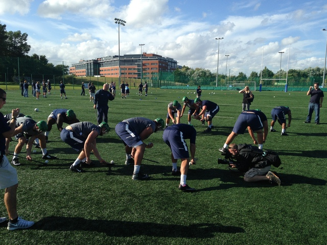Penn State Players Try Hurling And Gaelic Football With Mixed Results