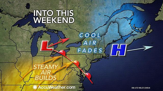 Labor Day Holiday Weekend Forecast Calls for Toasty Temperatures