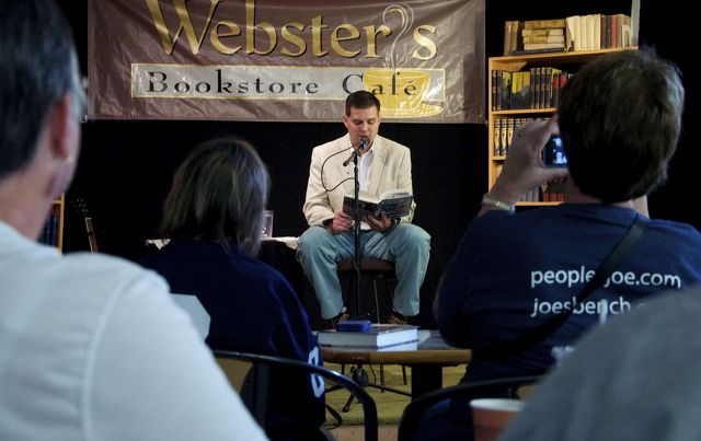 Jay Paterno Reads from New Book at Webster's