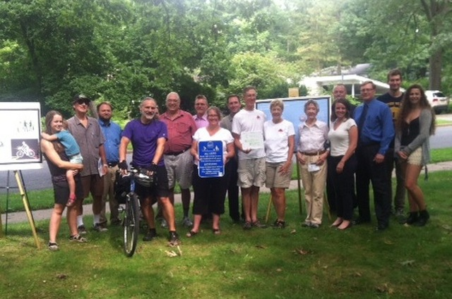 Sharing the Sidewalk: Community Members Support New Bike Path Campaign