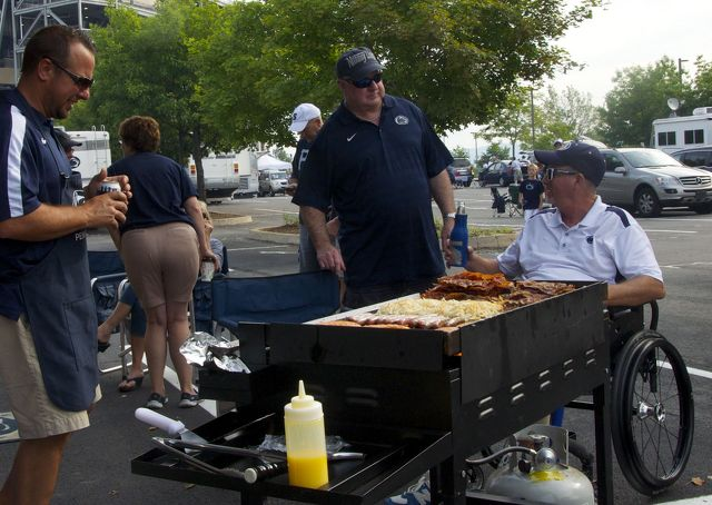 Tailgating Continues a Tradition of 'Homecoming'