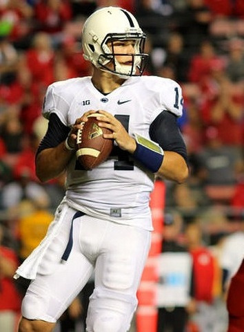 What Christian Hackenberg Looked Like From Every Angle on Saturday Night