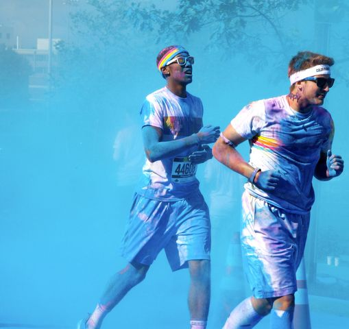 Color Run Helps Penn State 'Celebrate Life'