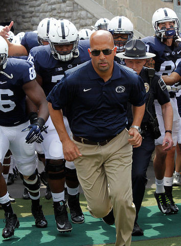 Penn State Football: Even With Green Out For Michigan, Franklin Sees Plenty Of Threats