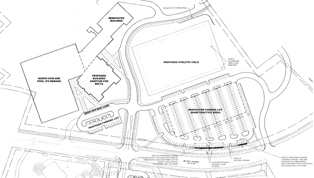 Planning Commission Hears Proposed Parking, Height Exceptions for High School Project