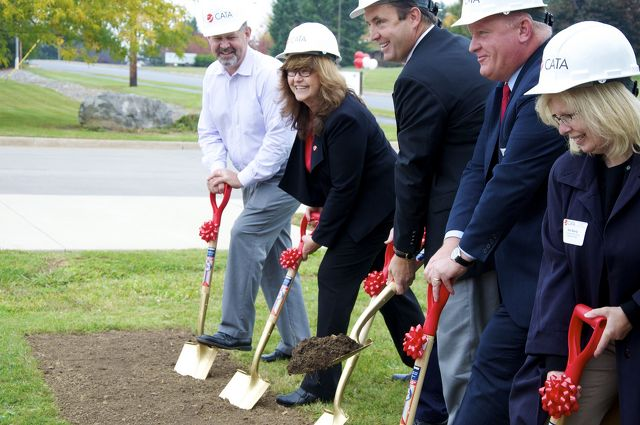 CATA Breaks Ground on Expanding Main Facility