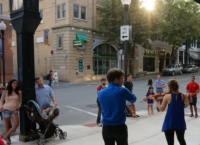 First Friday Celebrations Draw Community Downtown