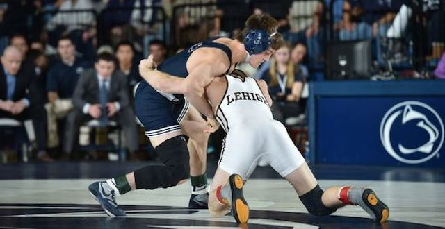 New-Look Wrestling Team Starts Season with Win Over Lehigh
