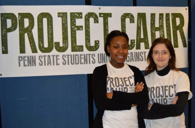 Project Cahir Fights Student Poverty, Honors Memory of Fallen Marine