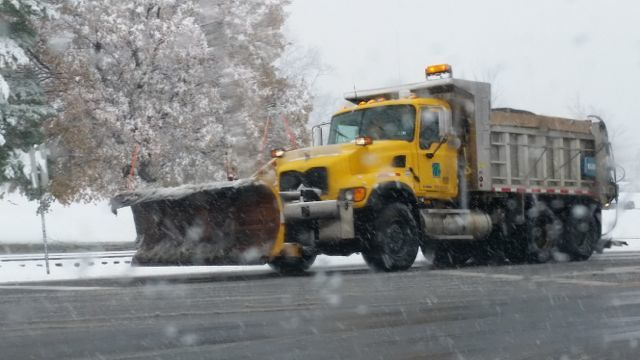 Borough Crews Battling Snow, Working to Clear Roads