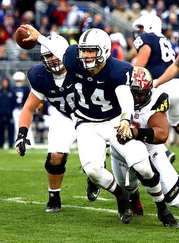 Christian Hackenberg Can Carry the Ball and the Penn State Offense