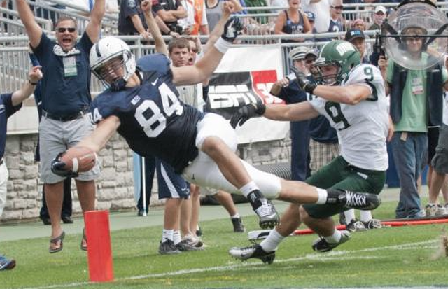 Penn State Football: Lehman Goes From Pizza To Pro Day For One Last Shot