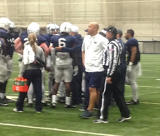 Penn State Football Practice: Cue The Music, 'Hey, It's Franklin'