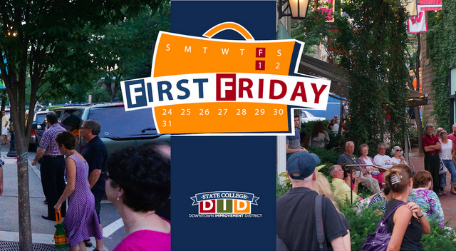 First Friday Ready To Draw Community Downtown Tonight